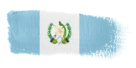 Brushstroke Flag Guatemala Stock Photo - 10545774