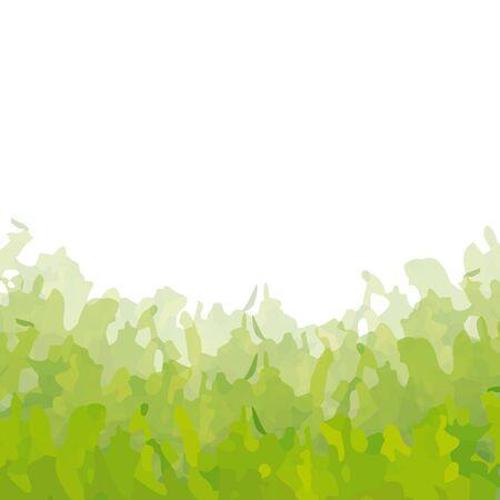 curvilinear: background algae Illustration