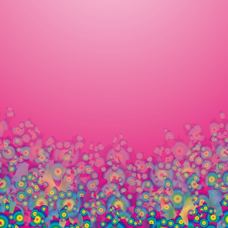pink background Stock Vector - 10563187