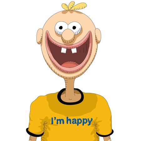 glücklicher Mensch