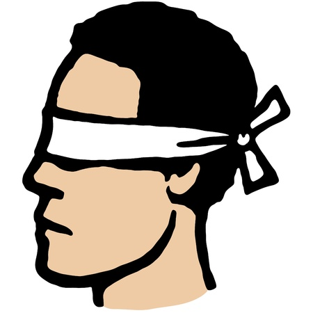 Blindfolded Vector