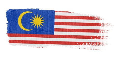 graphing: Brushstroke Flag Malaysia