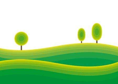 curvilinear: landscape