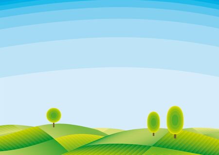 landscape Stock Vector - 10590120