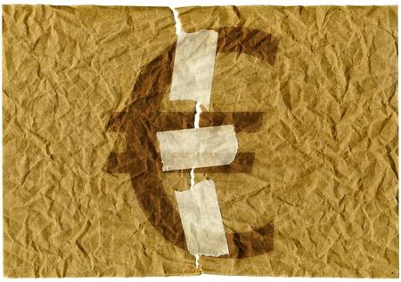 appease: Euro symbol Stock Photo