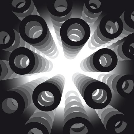 profundidad: formas circulares