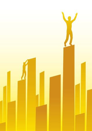 Skyline business Stock Vector - 10590615