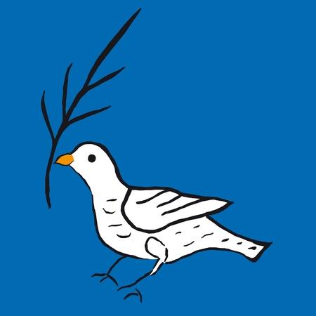 Dove of peace Stock Vector - 10590607