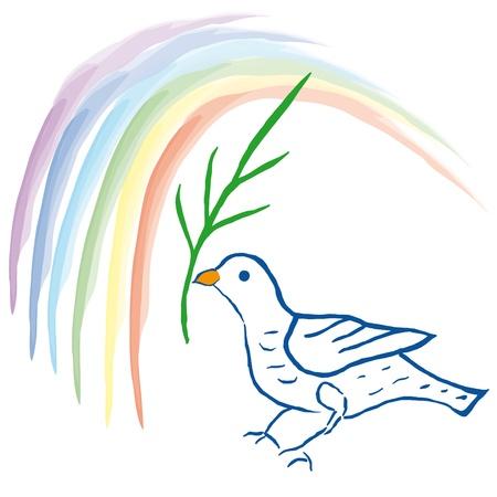 simple sky: Dove of peace