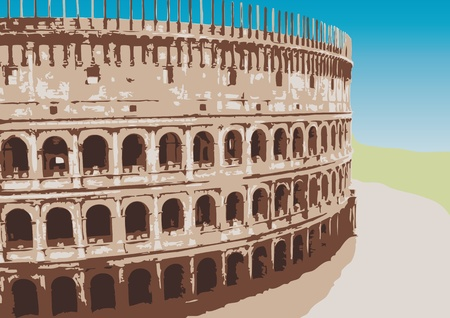 Colosseum Stock Vector - 10590632