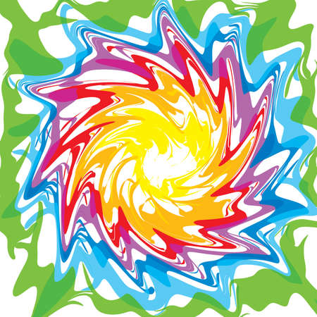 composing: Rainbow colors