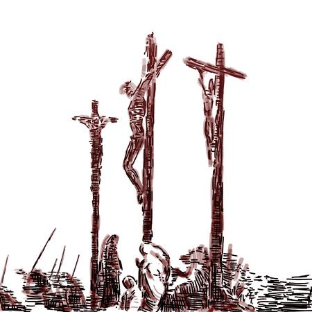 kruzifix: Kreuzigung