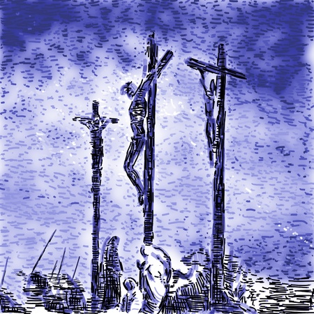 Crucifixion Stock Photo - 10590594