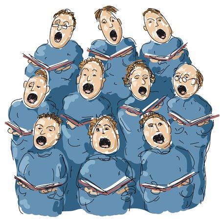 choir Stock Vector - 10590562