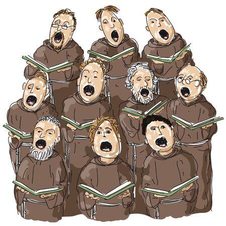 choir Stock Vector - 10590568