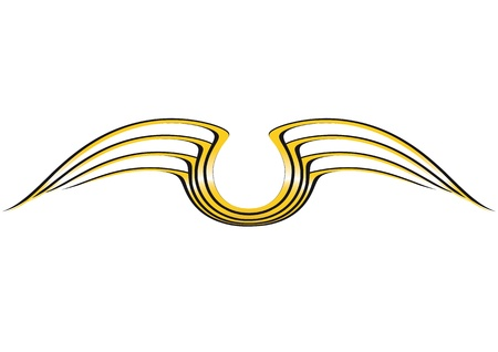 wing: Crest Illustration