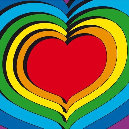 Hearts Stock Vector - 10590407