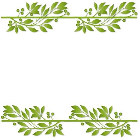plant frame Banco de Imagens - 10590325