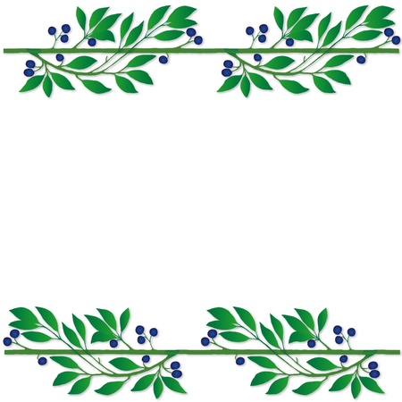 plant frame Stock Vector - 10590355