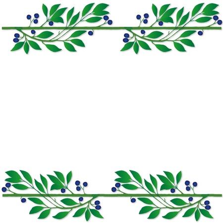 plant frame Ilustração