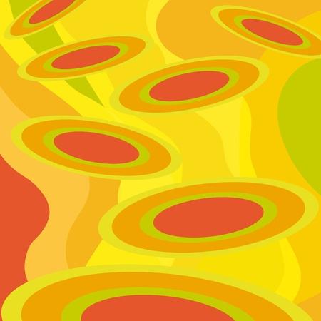 psychedelia: Discs Illustration