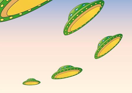 invade: Ufo Illustration