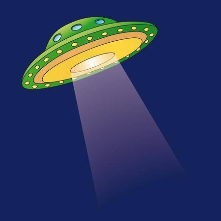 martian: Ufo Illustration