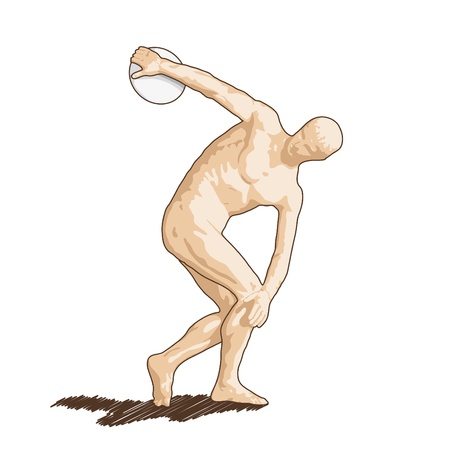 thrower: discus thrower
