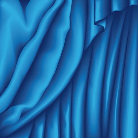 terciopelo azul: Tejido