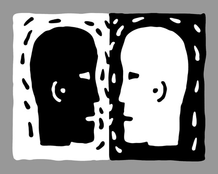 mentioned: two heads