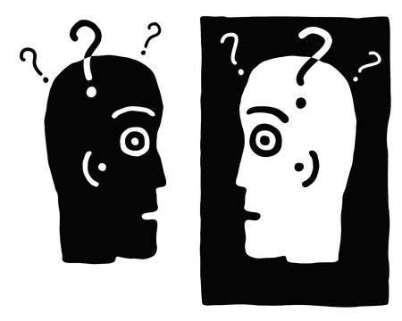 two minds: two heads