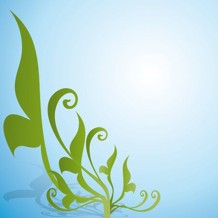 floral background Banco de Imagens - 10589915
