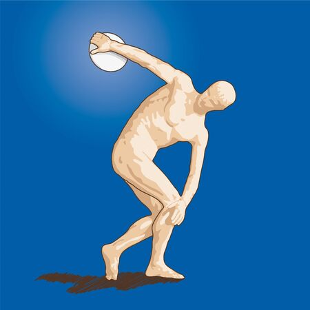 discus thrower Stock Photo - 10589918