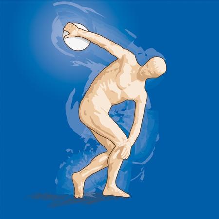 discus thrower photo