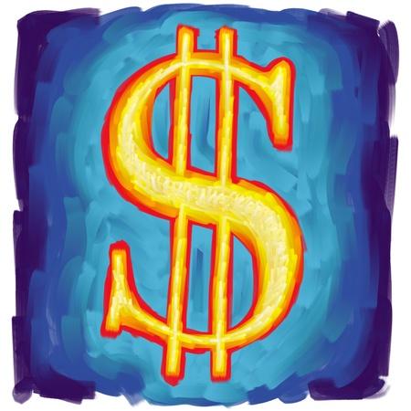 Us dollar symbol Stock Photo - 10619399