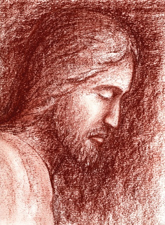 Face of Jesus photo