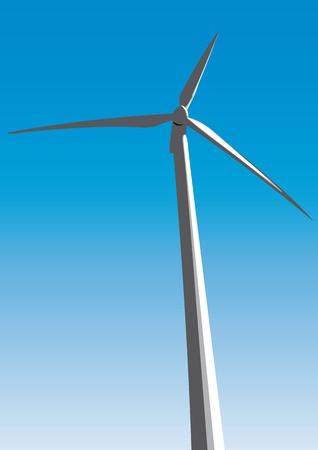 wind turbine: �oliennes Illustration