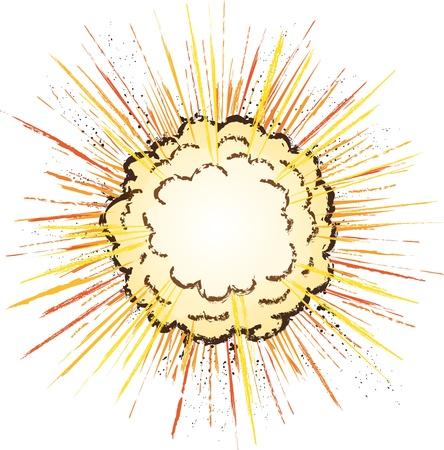 detonated: explosion