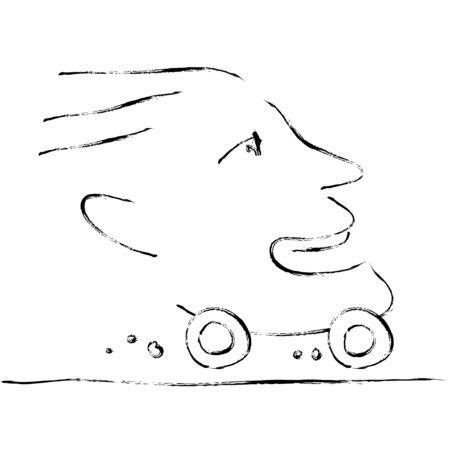 fast driving: fastest man
