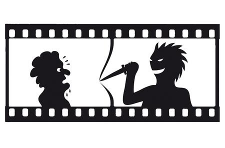 thriller: tension filmstrip