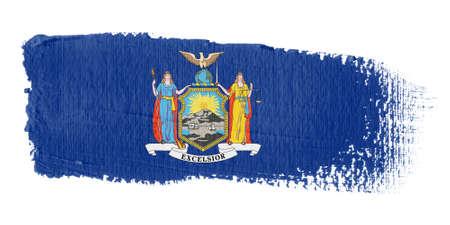 represent: brushstroke flag New York