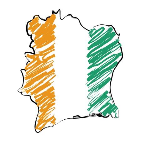 cote: map flag Cote d