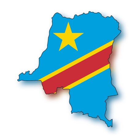 republic of the congo: map flag Democratic Republic of the Congo