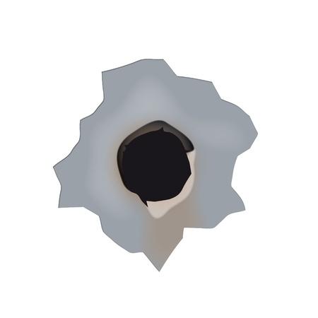 war paint: agujeros de bala