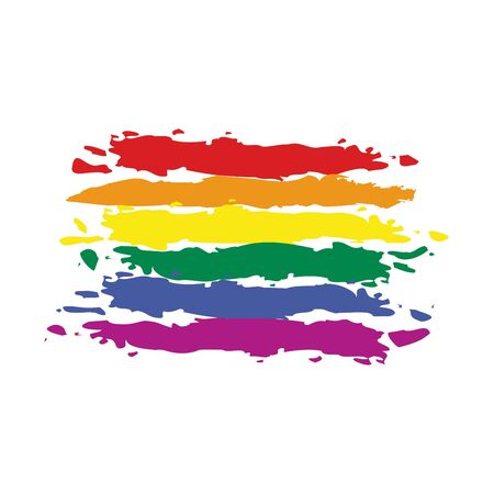 rainbow flag: map flag Rainbow
