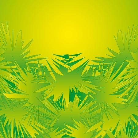 composing: jungle decoration