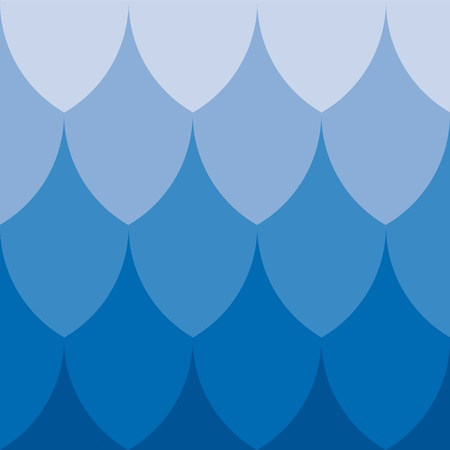 curved lines: geometric background Illustration