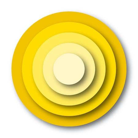 concentric circles: Fondo geométrico