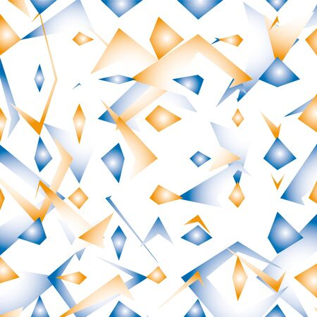 breakage: geometric background Illustration