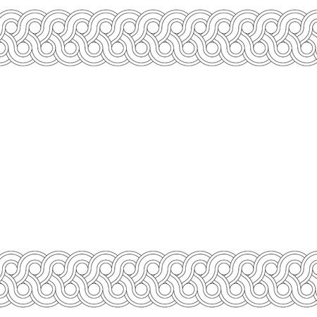 Geometric frame Stock Vector - 10664951
